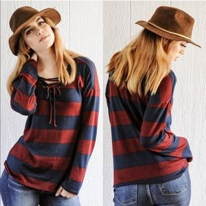 🆕 Hopely Striped Top